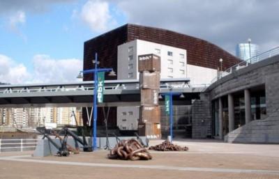 Nave 9, bajos del Museo Marítimo de Bilbao
