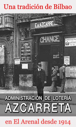 Banner de la Administración de Lotería Azcarreta