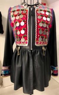 Julio Lama - chaqueta de cuero