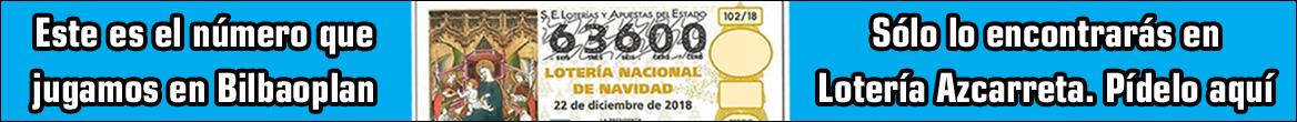 Banner de Lotería Azcarreta