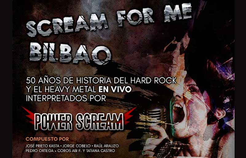 Scream for me en Bilbao