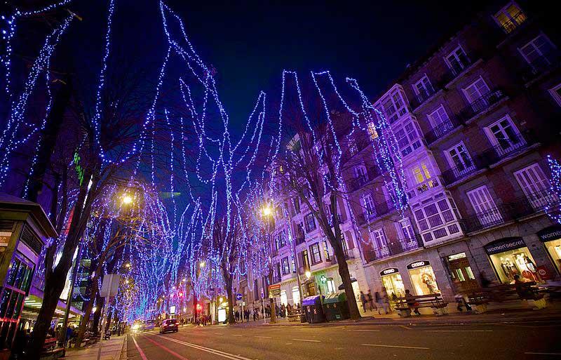 Iluminación navideña Bilbao 2018