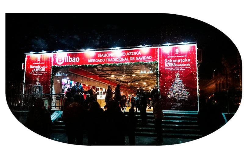 Mercado Navidad Bilbao 2018