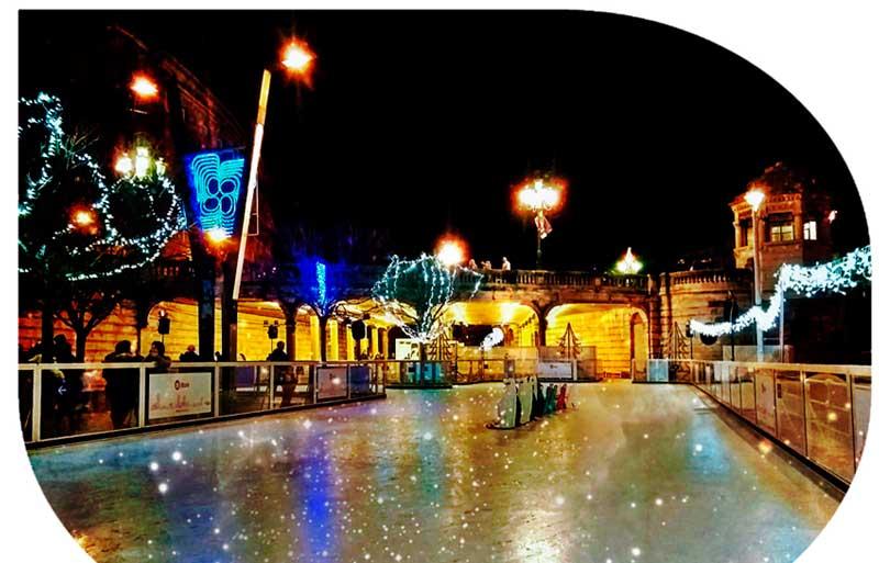 Pista hielo Navidad Bilbao 2018