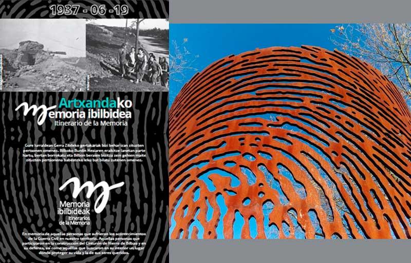 Itinerario de la Memoria de Artxanda Bilbao