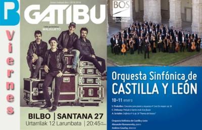 11 de enero Conciertos de la semana en Bilbao