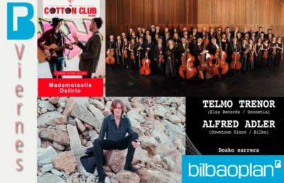 Conciertos semana Bilbao 18 enero 2019