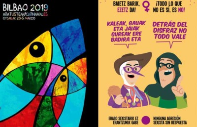 Cartel Carnaval 2019 Bilbao