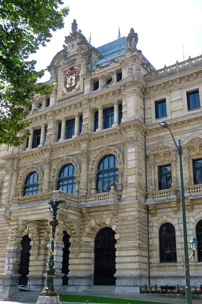 Palacio de la Diputación de Bizkaia Bilbao visitas gratis