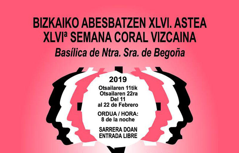 Semana Coral Vizcaína Bilbao 2019