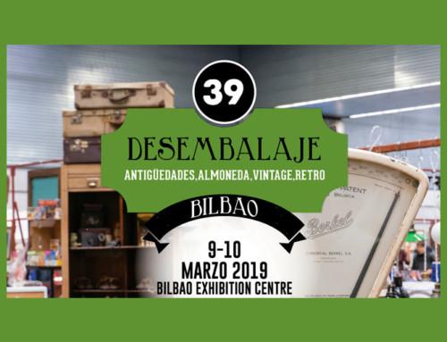 XXXIX Desembalaje Bilbao – 9 al 10 de marzo