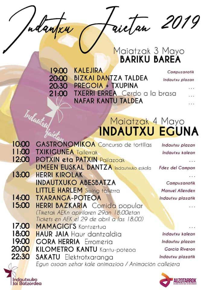 Fiestas de Indautxu 2019 Bilbao