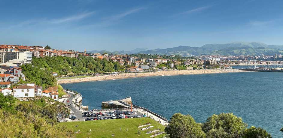 Playas de Getxo próximas a Bilbao