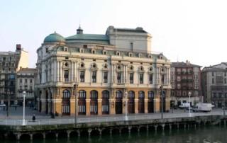 Teatro Arriaga Bilbao visitas exterior