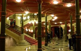 Teatro Arriaga Bilbao visitas hall