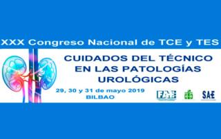 Congreso Nacional de TCE y TES patologías urológicas Bilbao 2019