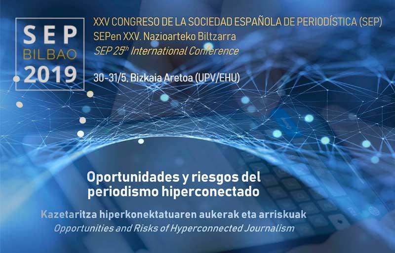 XXV Congreso de la Sociedad Nacional de Periodística Bilbao