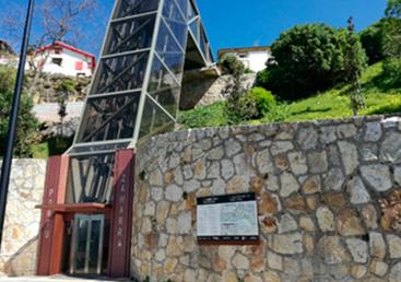 Panel en Puerto Viejo Algorta Getxo