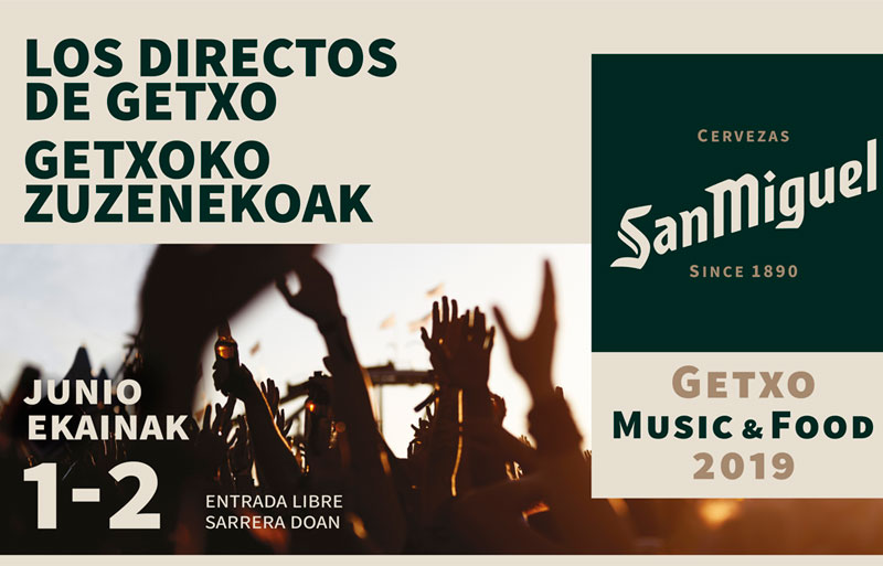 Getxo Music & Food 2019 cartel