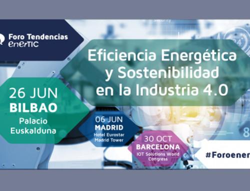 Foro Eficiencia Energética y Sostenibilidad en lndustria 4.0 – 26 de junio