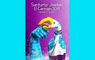 Cartel fiestas de Santurtzi 2019