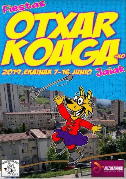Portada programa fiestas Otxarkoaga