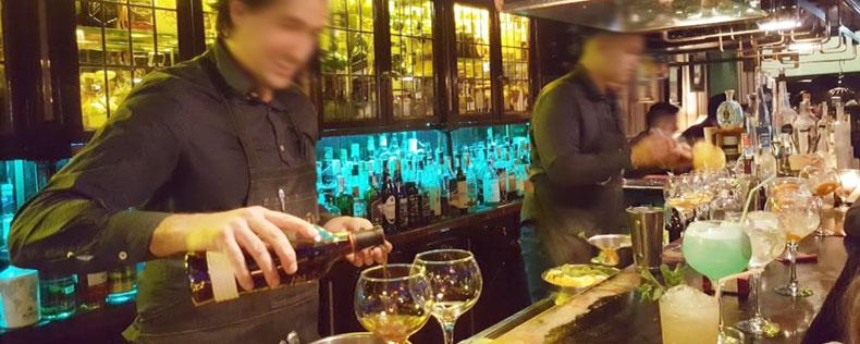 Sir Winston Churchill bar de copas en Bilbao