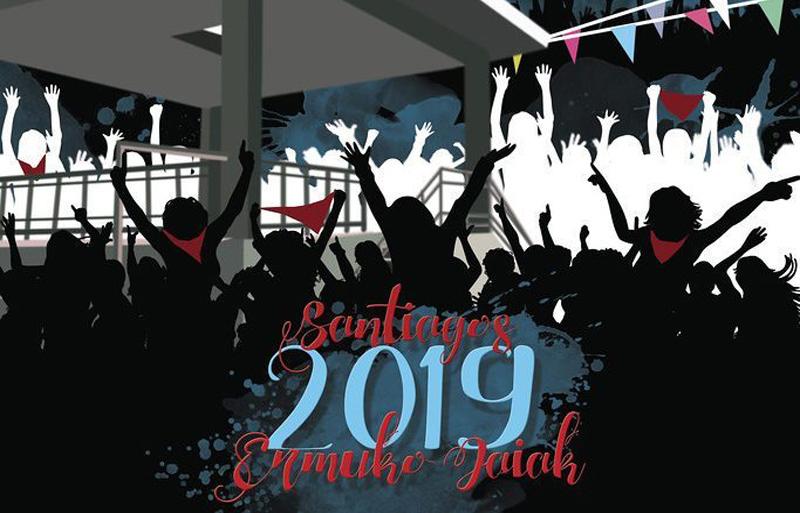 Cartel Fiestas de Ermua 2019
