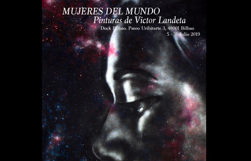 """Exposición """"Mujeres del Mundo"""" de Victor Landeta"""