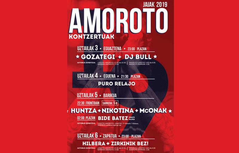 Fiestas Amoroto 2019