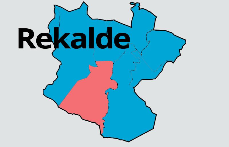 Mapa distrito Rekalde