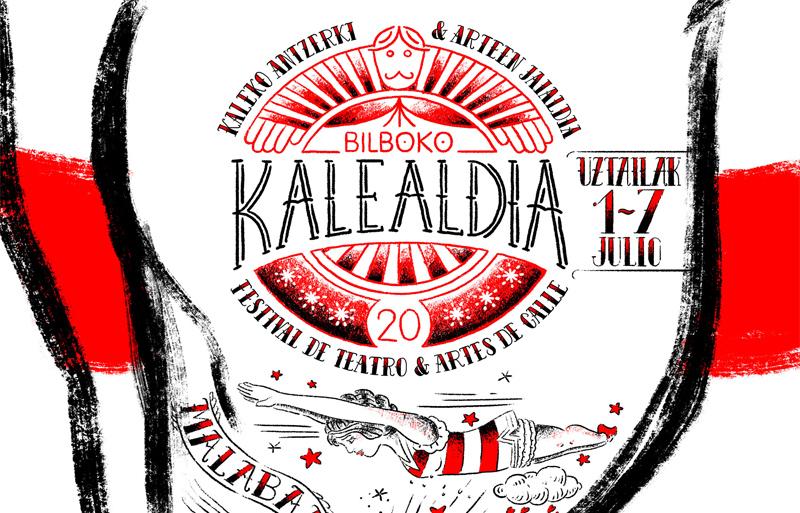 Cartel Kalealdia Bilbao 2019