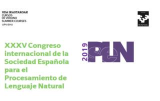 ongreso internacional de la Sociedad Española para el Procesamiento de Lenguaje Natural