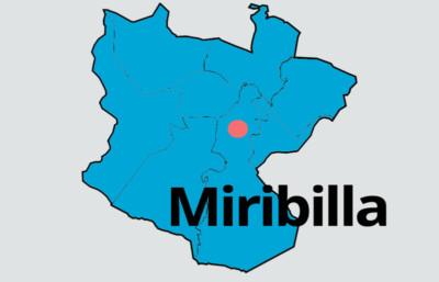 mapa Miribilla fiestas barrios