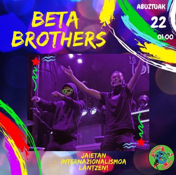askapeña - beta brothers 2019