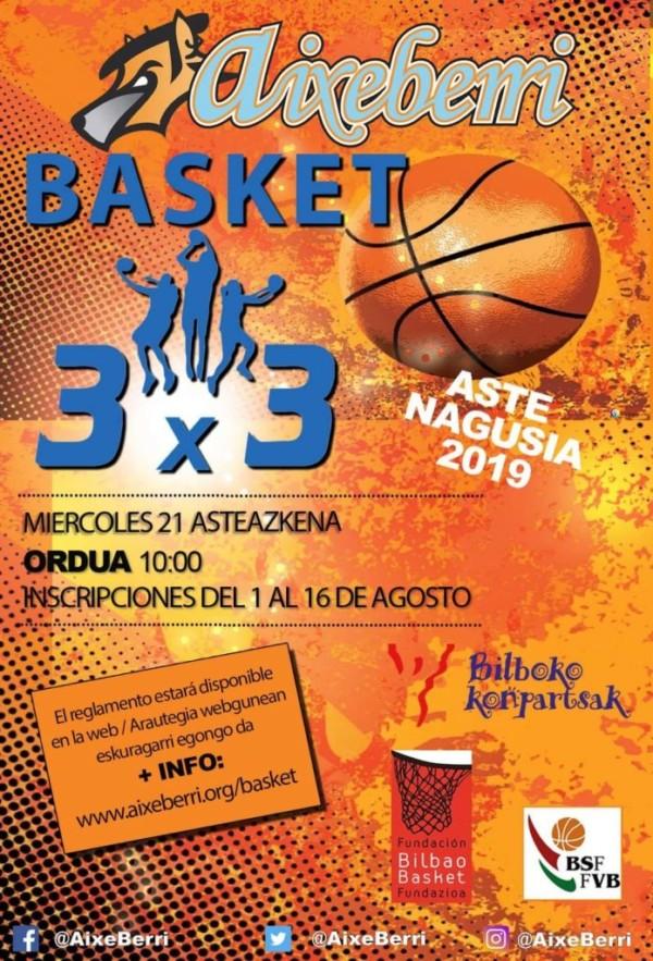 basket-aixeberri aste nagusi 2019