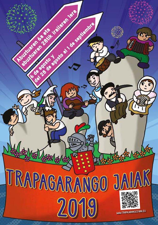 cartel fiestas-trapagaran-2019