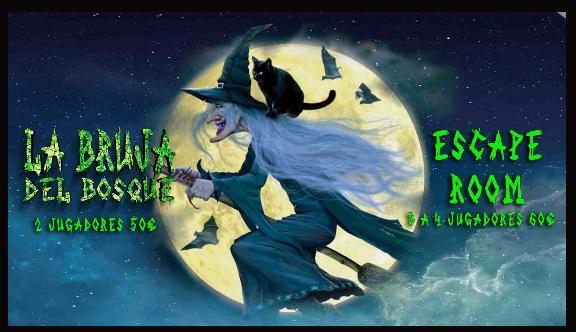 la bruja del bosque escape room bilbao