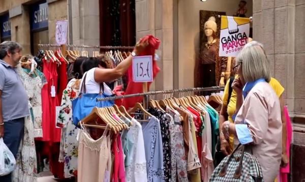 gangas septiembre Ganga-Market Bilbao