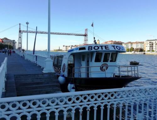 Paseo en barco por Getxo y Bilbao