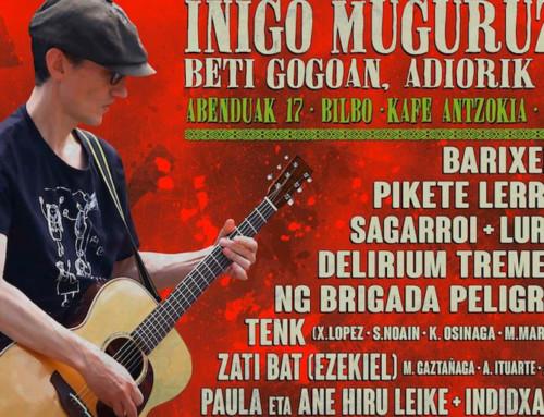 Homenaje a Iñigo Muguruza