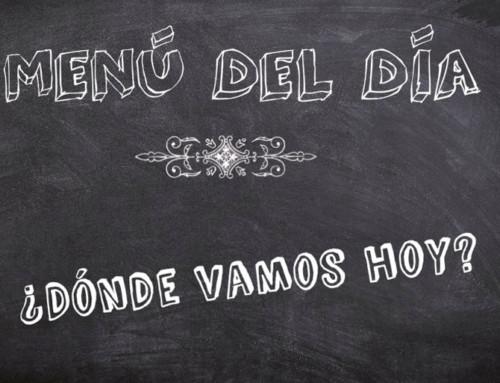 Menú del día en Bilbao